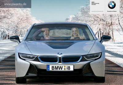 Foto Greenbox im BMW i8