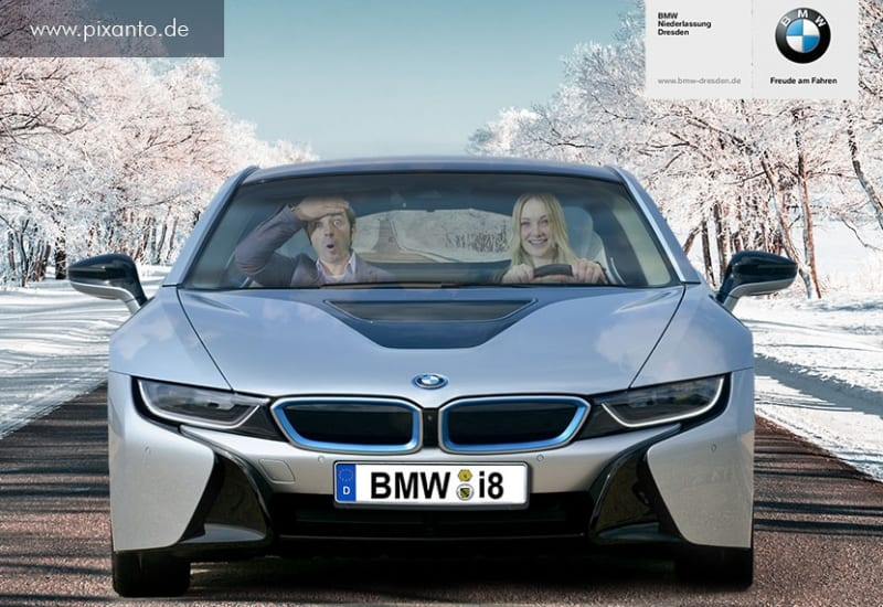 Foto Greenbox im BMW i8