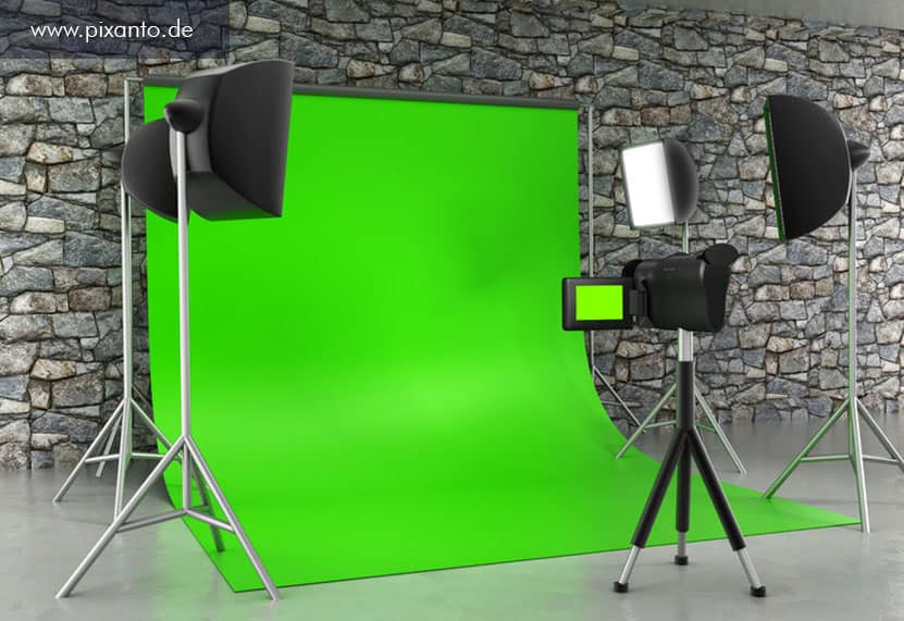Greenbox Foto Studio und Setup