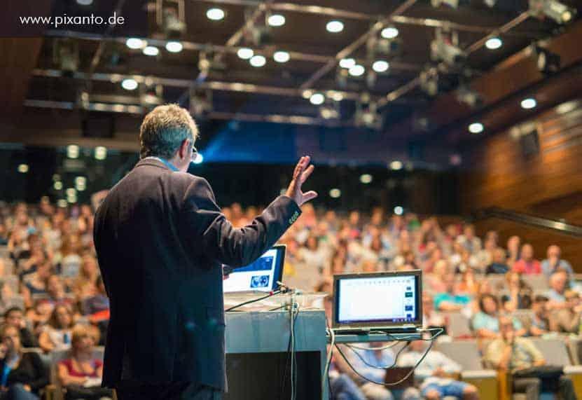 Eventaktion für Kongresse und Tagungen