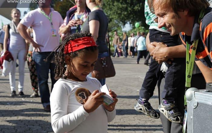 Das Daumenkino Eventmodul zur Jubiläumsfeier in Köln