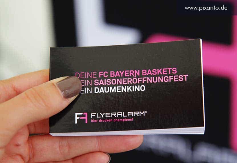 Daumenkino für Flyeralarm und Bayern München