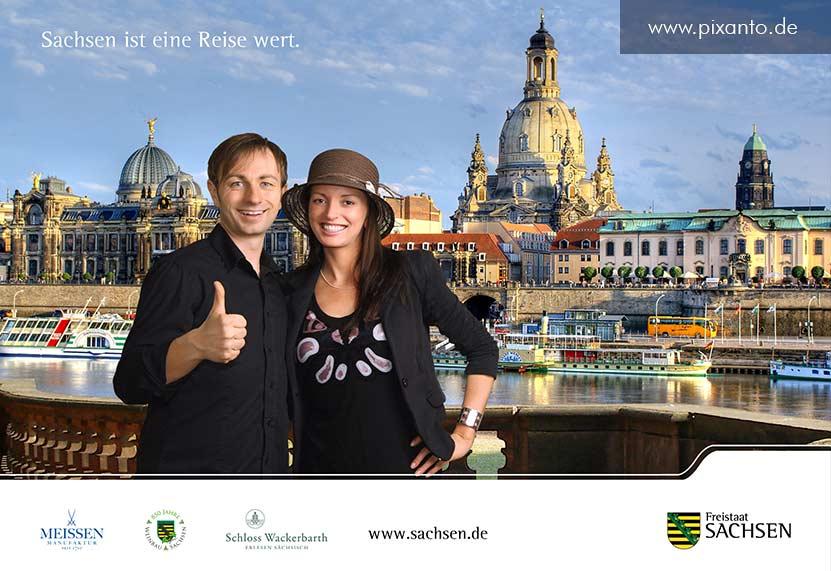 Fotoaktion Staatskanzlei Sachsen