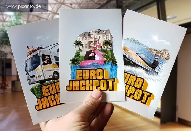 Greenbox Foto Aktion Lotto Eurojackpot Münster